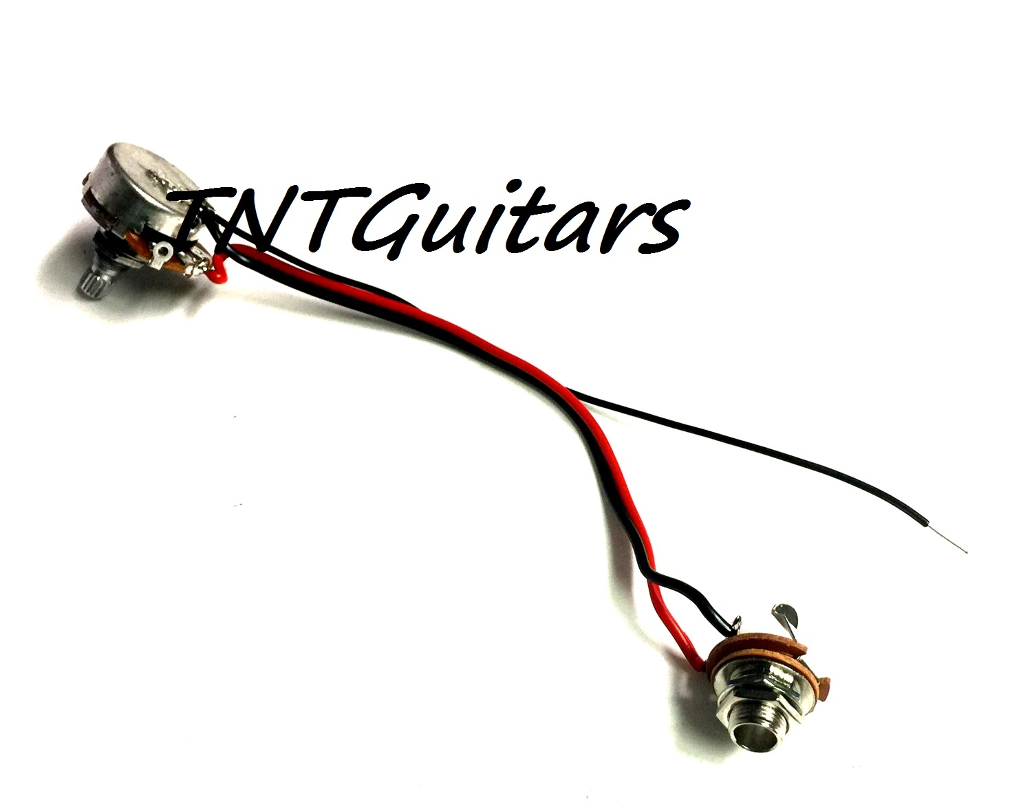 1v One Pickup Wiring Harness Standard 1 Volume Prewired Dragonfire Two 500k Toggle Chrome Great With