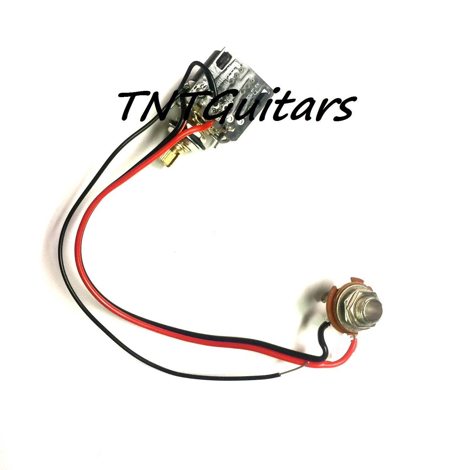 1v One Pickup Wiring Harness Cts Push Pull Coil Cutting Split Pot Diagram