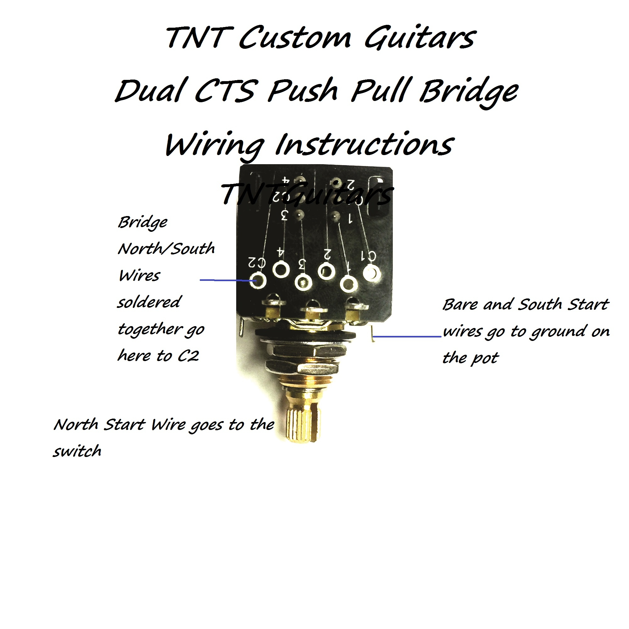 B250k Push Pull Wiring Diagram Detailed Diagrams Pot 1v2t Prewired Harness 2 Pickup Cts Dual Coil Cut Volume