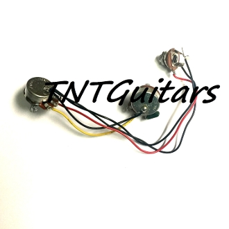 1V1T One Pickup Wiring Harness ~ Standard 1 Vol. 1 Tone Prewired  Mm Clip Wiring Harness on trailer wiring clips, safety harness clips, electric ford harness clips,