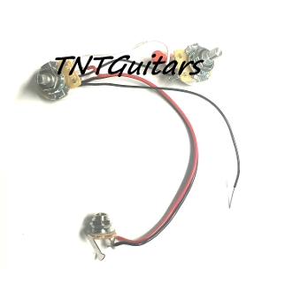 1V1T One Pickup Wiring Harness ~ CTS Precision 1Vol 1Tone ... Precision Wiring on