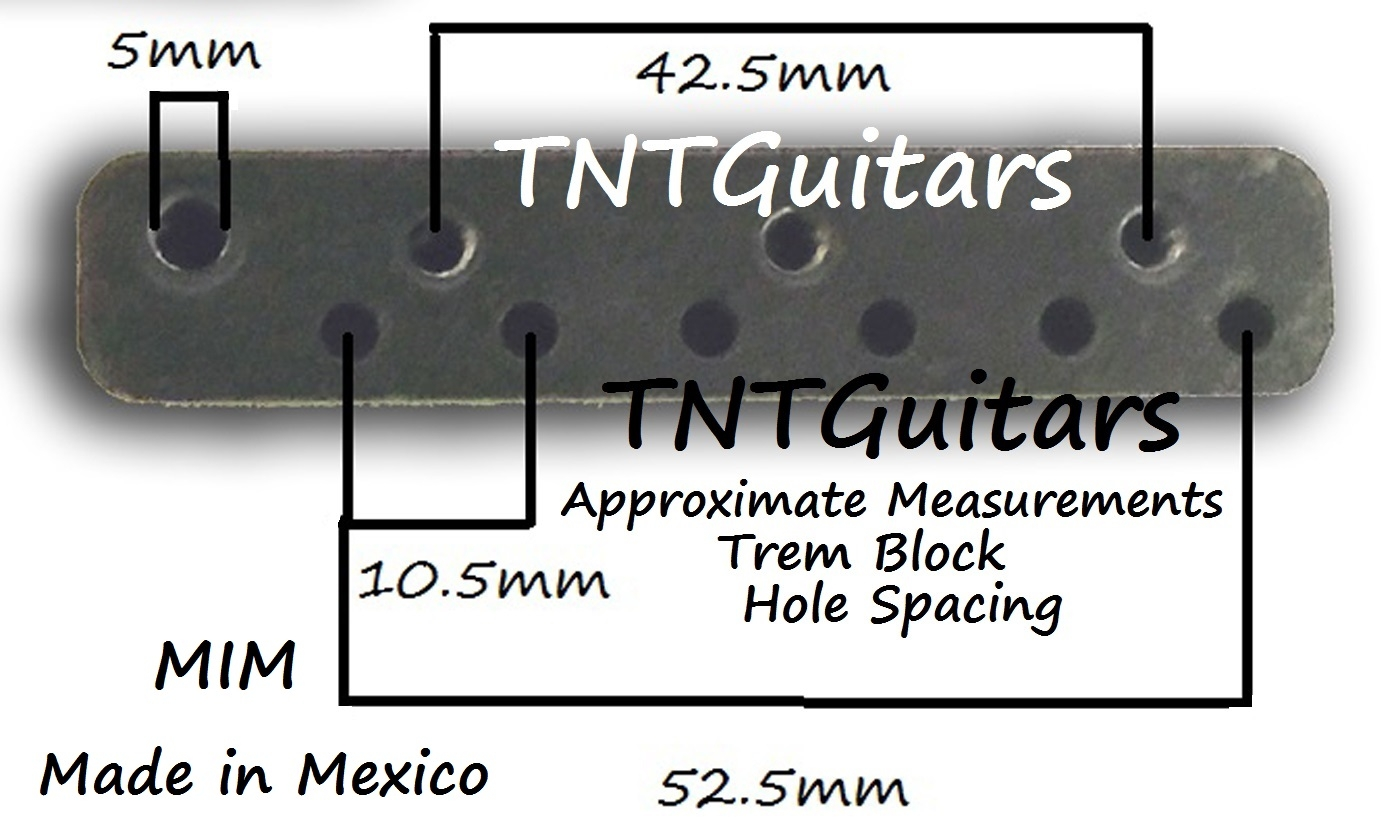 Strat Trem Steel Block Arm Mim Made In Mexico Mexican Lefty Wiring Diagram