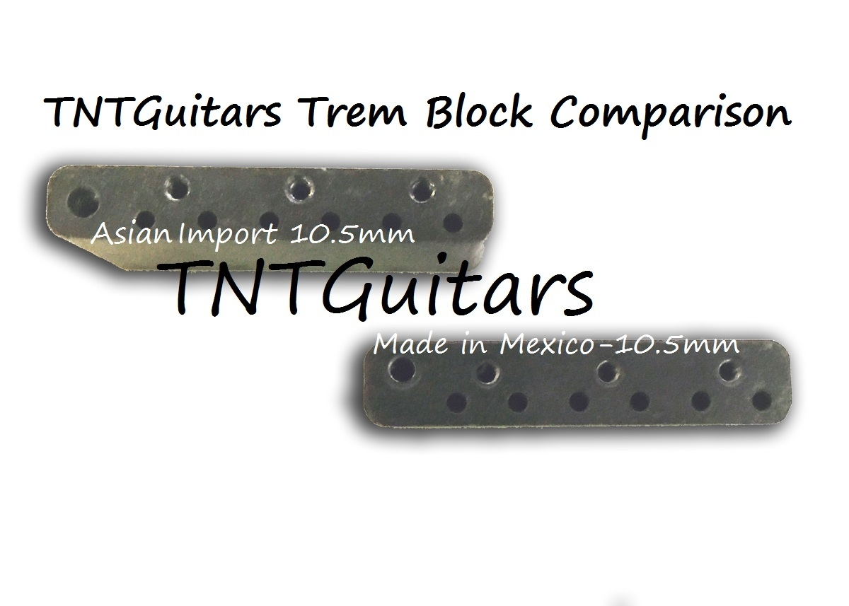 Strat Trem Steel Block & Arm, MIM Made in Mexico